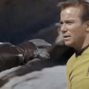 Is this the worst Star Trek fight scene... ever?