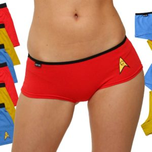 Stun Your Partner In The Bedroom With Sexy Star Trek Underwear
