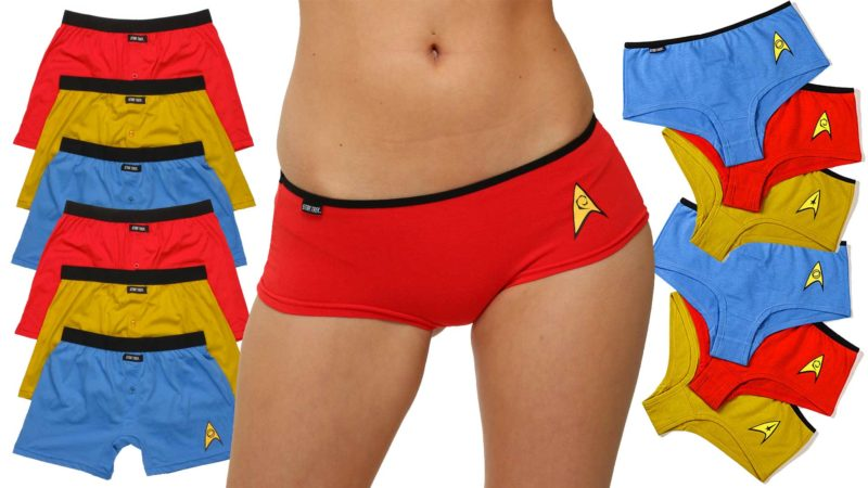 Star Trek Underwear