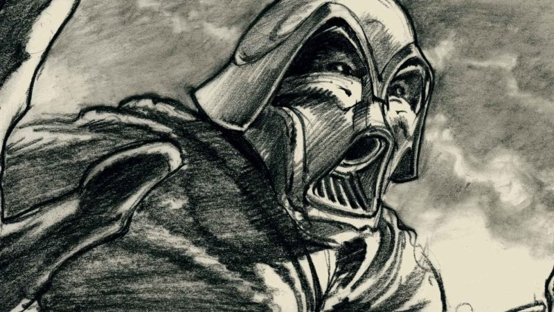 Darth Vader: Early Star Wars Storyboard