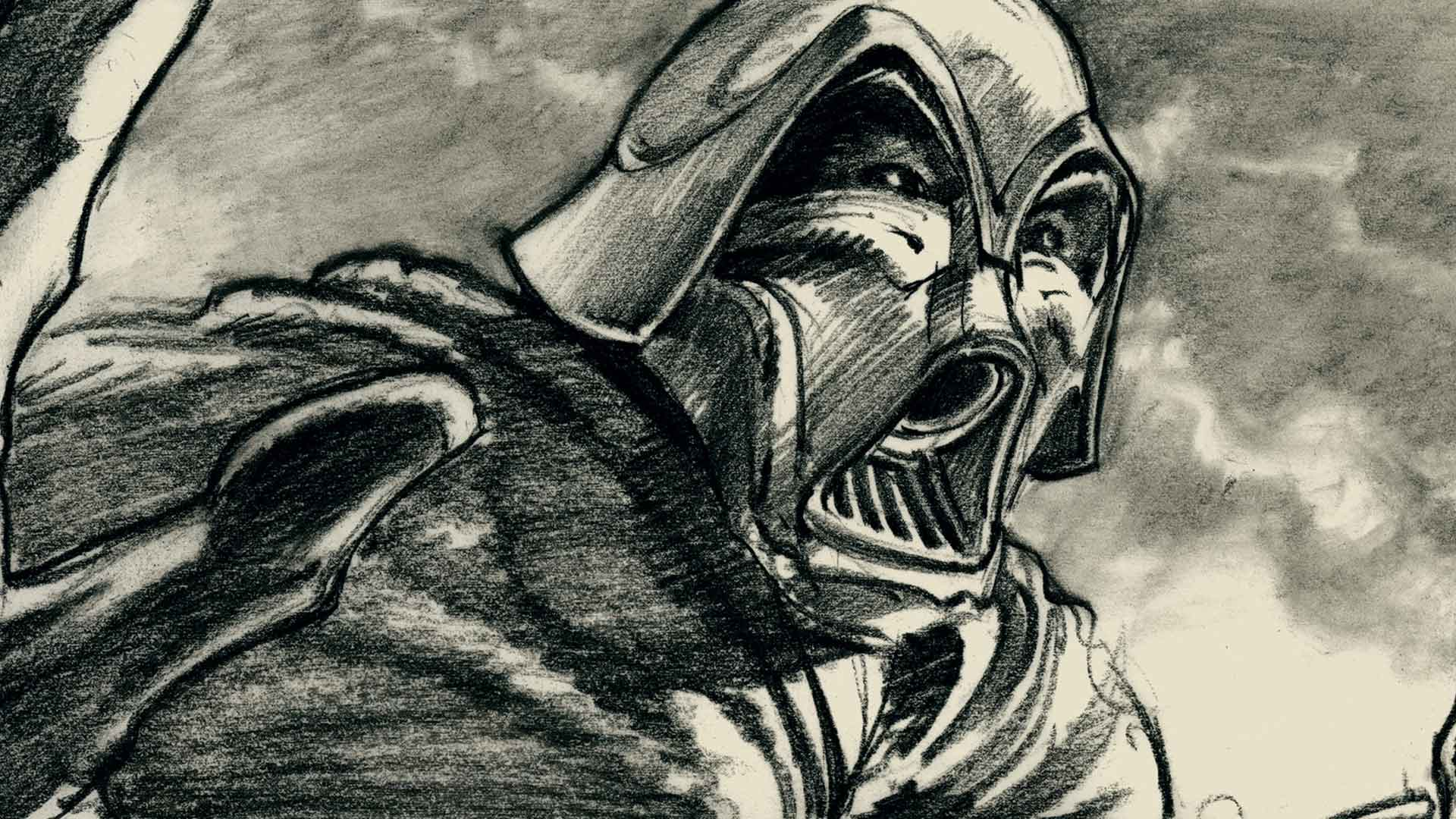 Darth Vader: Early Star Wars Storyboard