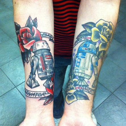 5 awesome star wars tattoos that will make you smile for Tattoo shops okc