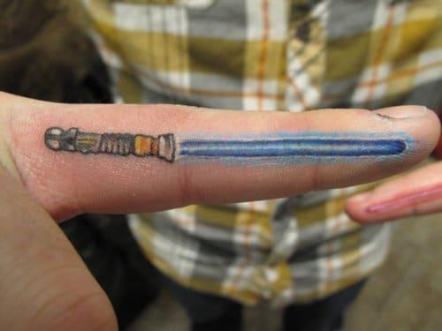 Star Wars Finger Saber