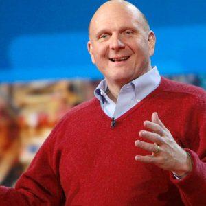 Microsoft CEO Steve Ballmer Gets Egged At Hungarian University