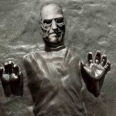 Steve Jobs In Carbonite