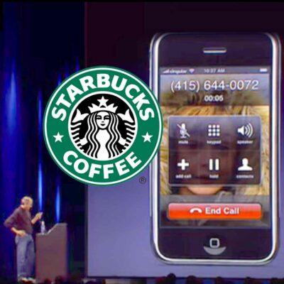 Steve Jobs Prank Calls Starbucks During iPhone Keynote