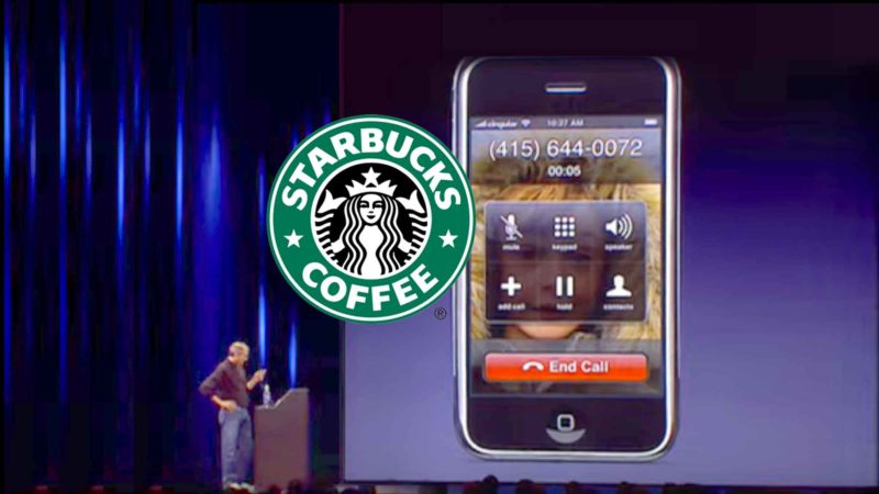 Steve Jobs Prank Calls Starbucks During iPhone Keynote