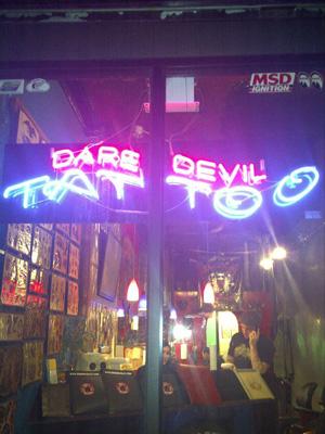 Dare Devil Tattoo