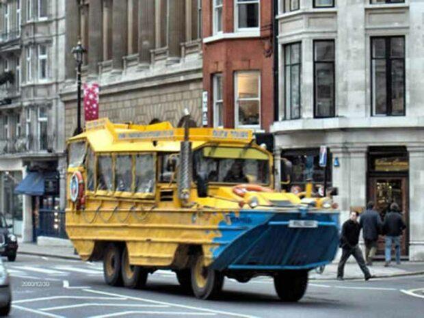 Duck Boat Bus