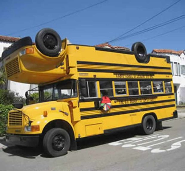 Topsy - The Upside Down Bus