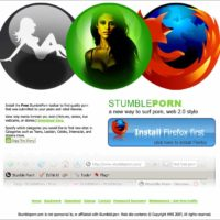 StumblePorn Is A StumbleUpon-Like Toolbar To Help You Find Porn On The Internet