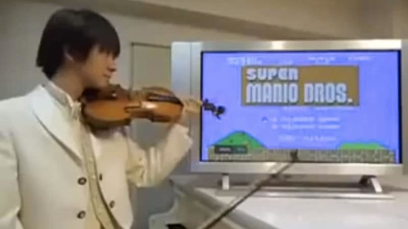 Super Mario Bros - Violin