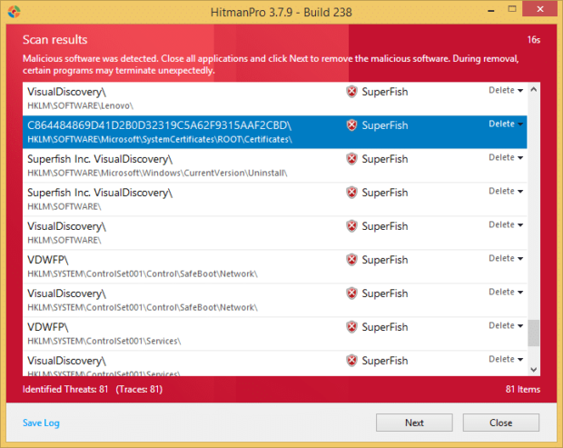 Superfish Malware - Lenovo Incident