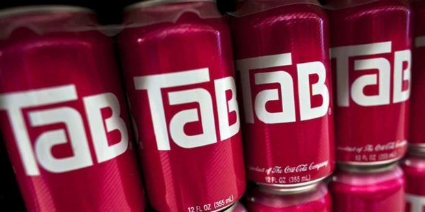 Tab Soda Cans