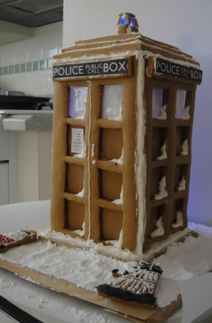 Tardis Cookie