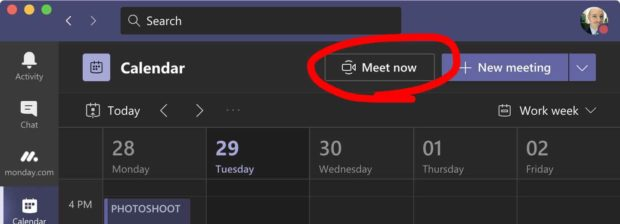 Microsoft Teams - Meet Now