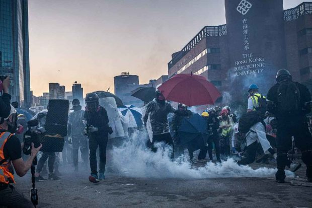 Tear Gas Hong Kong
