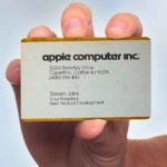 10 Famous Business Cards From Tech Leaders