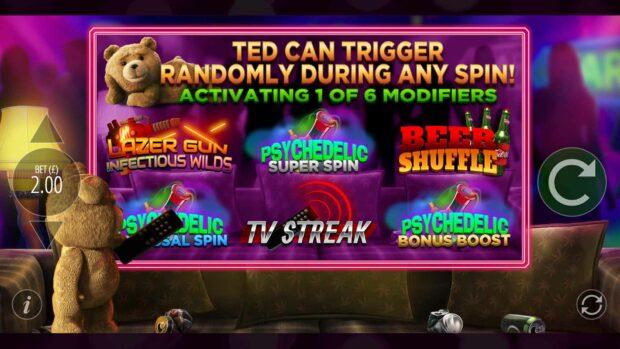 Ted Slot Machine - Modifier