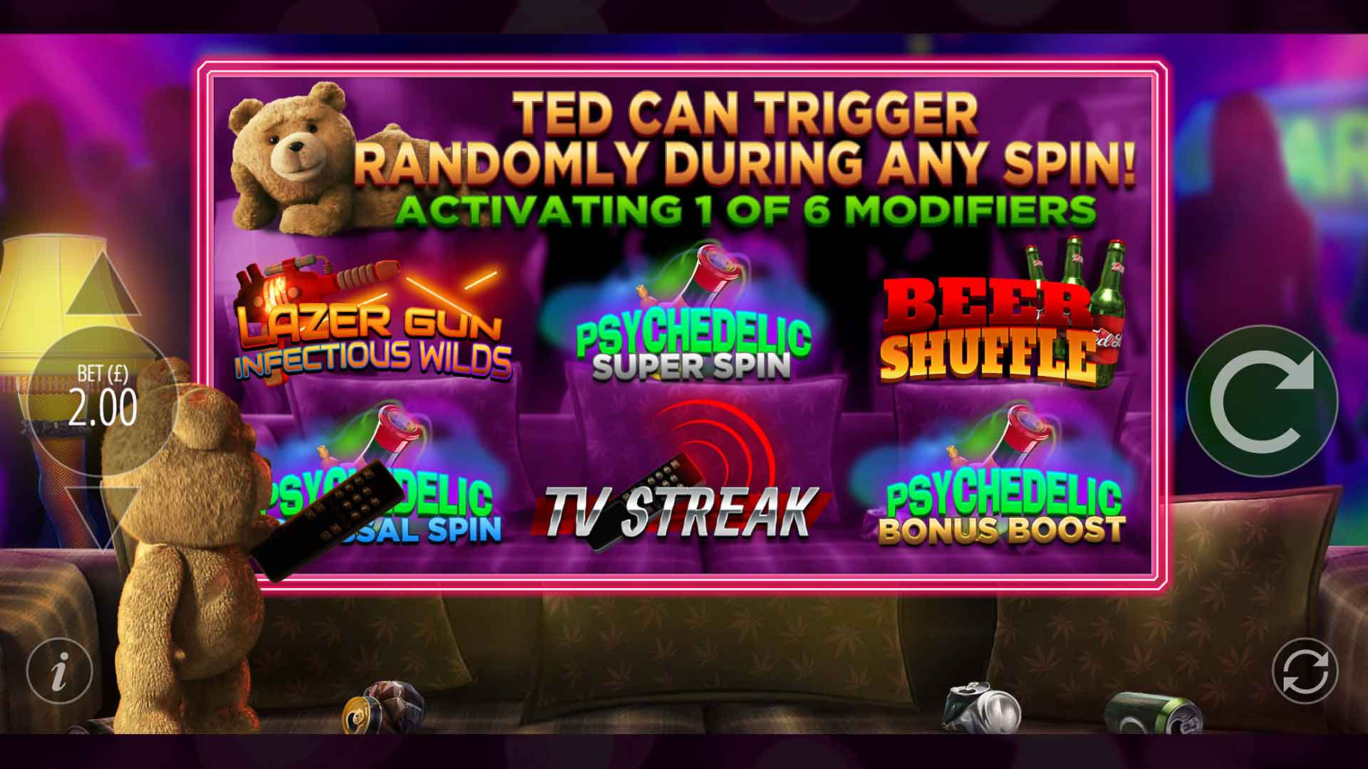 Spiele Ted - Video Slots Online