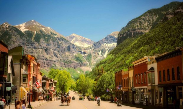 Telluride, Colorado - Romantic Vacation Ideas In The Summer Months