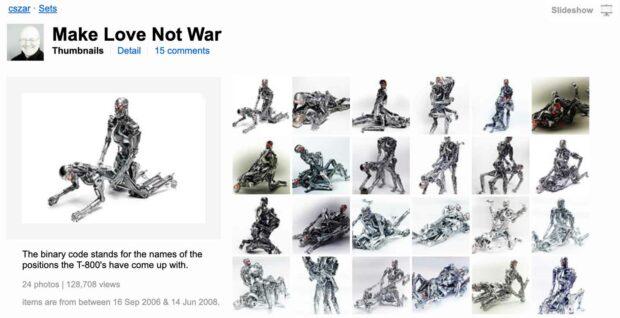 Terminator Kama Sutra Photos