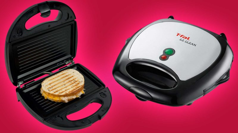 t-fal sandwich and waffle maker