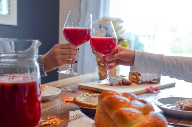 Thanksgiving Toasts - Cheers!