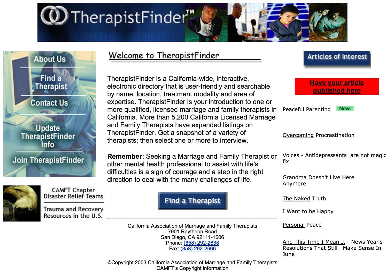 Therapistfinder