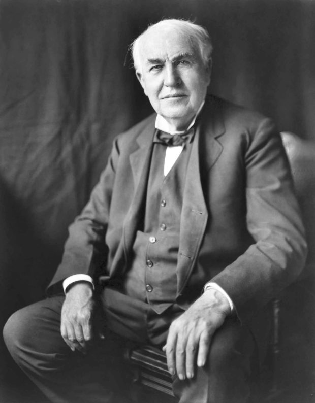 Thomas Edison - Member Of The Famous Sleepless Elite