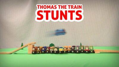 Insane Thomas The Train Stunts