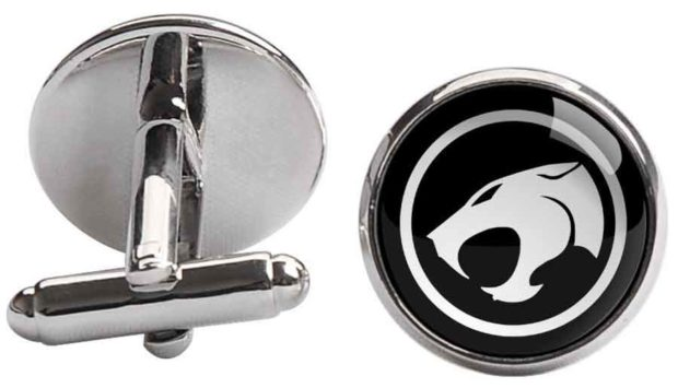Black &Amp; Silver Thundercats Logo
