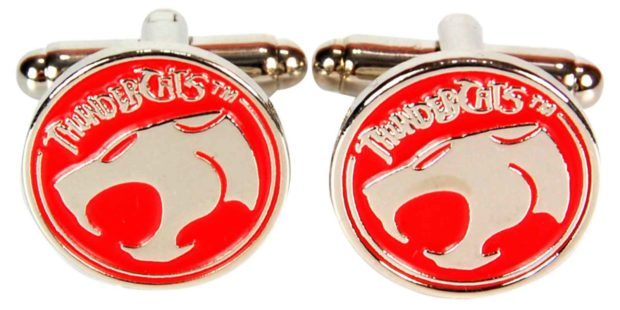 ThunderCats Gold on Red Cufflinks