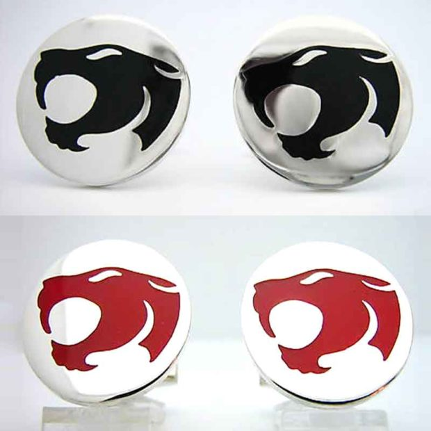 Sterling Silver ThunderCats Cufflinks