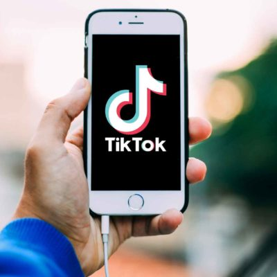 TikTok iPhone Man