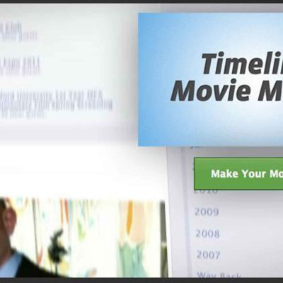 Facebook Timeline Movie Maker