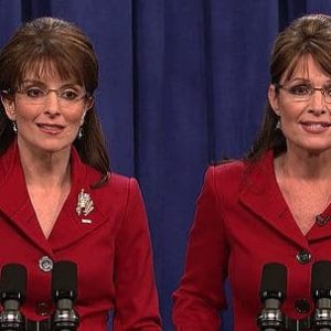 NBC Gets Ratings Boost from Tina Fey's Sarah Palin Impersonation (2008)