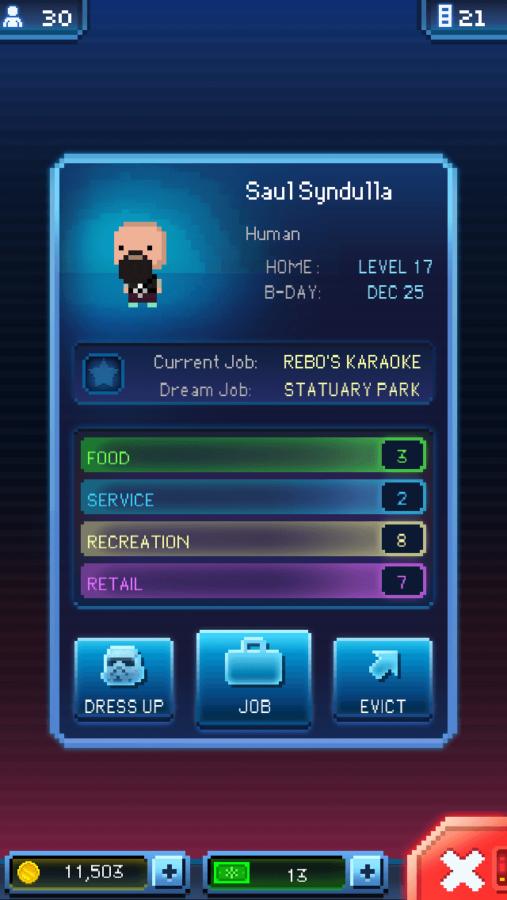 Tiny Death Star: Elevator Character
