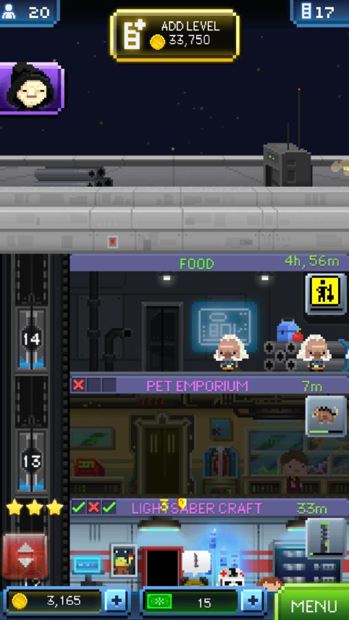Tiny Death Star: Roof
