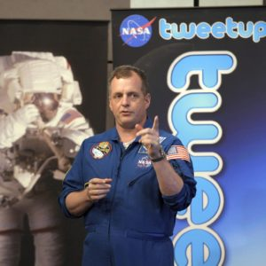 Astronaut TJ Creamer Writes The 1st Tweet from Space