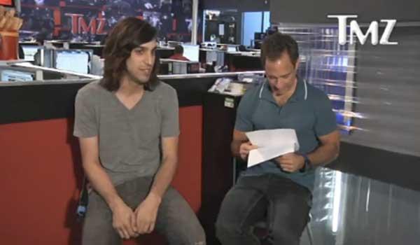 Ryan Satin and Harvey Levin from TMZ