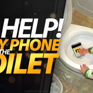Dropped iPhone In Toilet? No Problem. Here's How To Save It!