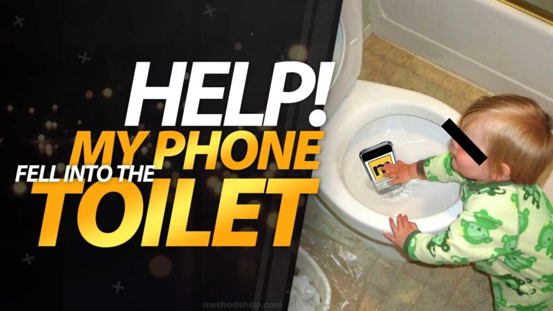 Help! My iPhone or iPod Fell Into A Toilet.
