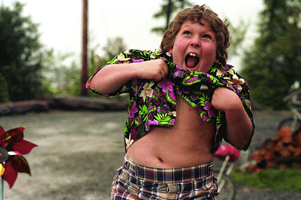 Chunk Doing The Truffle Shuffle - Great Goonies Quotes - Goonies Movie Quotes