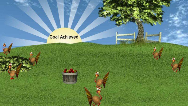 Turkey Bowl - Adobe Flash Game