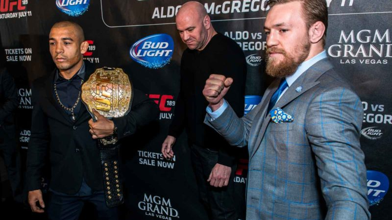 UFC - José Aldo vs. Conor McGregor, UFC 189 World Tour London (2015)