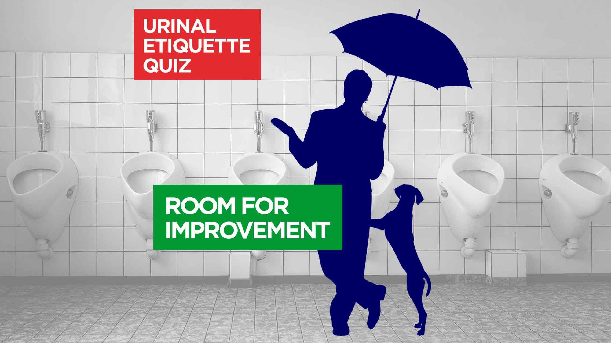 Urinal Etiquette Quiz