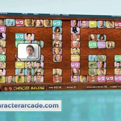 USA Network's Character Arcade