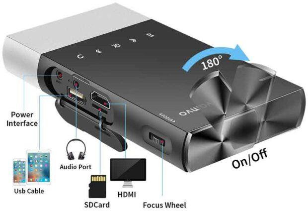 Vamvo Ultra Mini S1 Projector