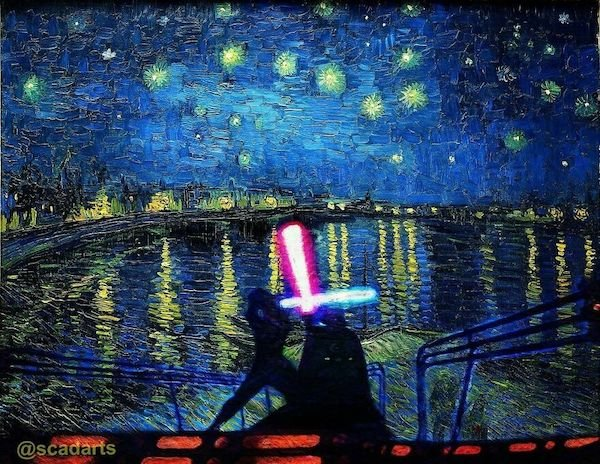 Starry Night Over The Empire